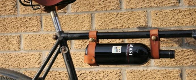 Bike wine rack :)