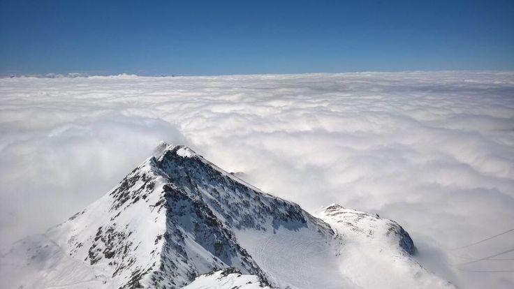 La mer de nuages ! - Alpe d'Huez