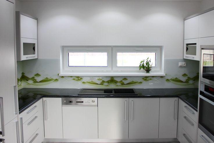 Kuchynské sklenené zásteny