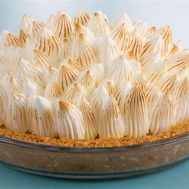 Try this Key Lime Meringue Pie recipe by Chef Anna Olson. This recipe is from the show Bake With Anna.