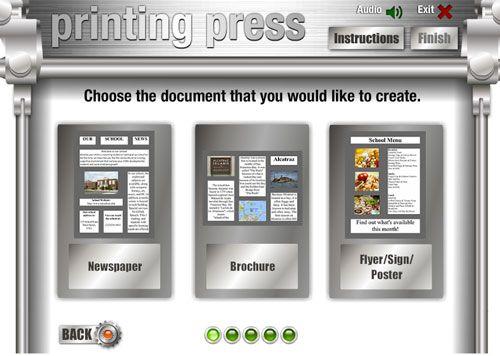 Crea carteles, folletos y prensa escolar con Printing Press | Nuevas tecnologías aplicadas a la educación | Educa con TIC