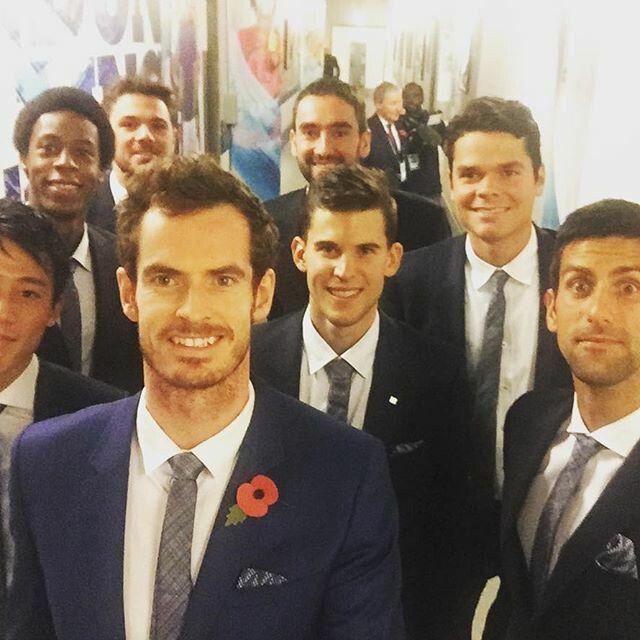 ATP World Tour Finals. London. 2016