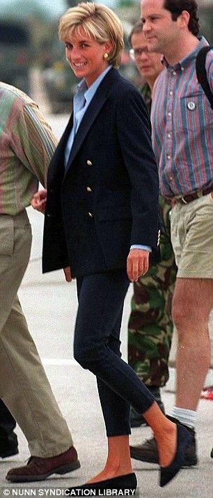 Princess Diana. Timeless look.