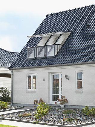 "Goa takfönster med liten ""balkong""!"