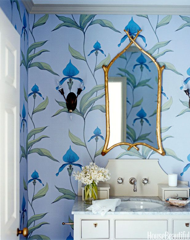 6 powder rooms that pack a punch bathroom