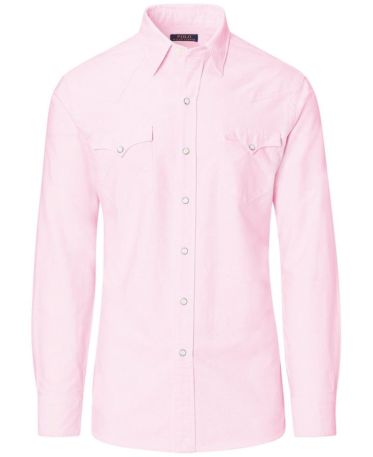 NWT Ralph Lauren Polo Classic Fit Western Shirt Size XXL Rose Color #PoloRalphLauren #Western