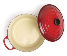Learn how to care for your enameled cast-iron cookware.