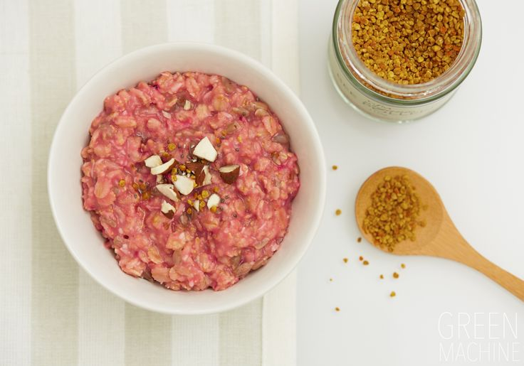 Rose Infused Oatmeal Recipe on The Green Machine | Wellness Directory #healthyeating #recipe #cleaneating #food #breakfast #ideas #pink #wholefood