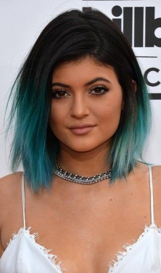 Funky Bob Hairstyles - Blue Ombre