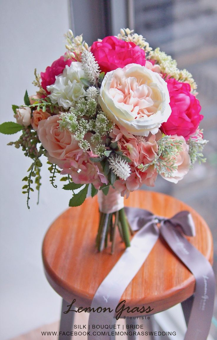 1000+ images about Silk Flower Bouquets on Pinterest