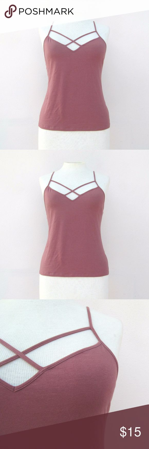 Charlotte Russe Plus Size Strappy Top Size 2X Trendy plus size top Charlotte Russe Tops
