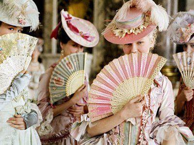 Marie Antoinette inspired decor