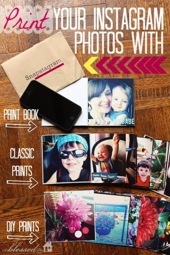 Print Your Instagram Photos with Snapstagram   MyBlessedLife.net