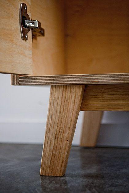 thanks to the tree plywood bookshelf