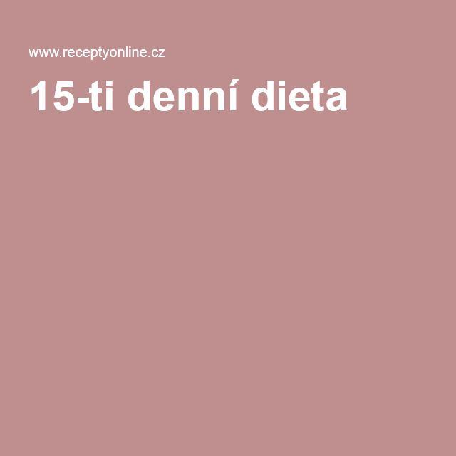 15-ti denní dieta