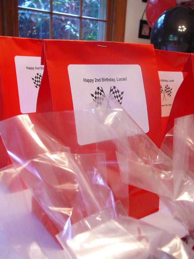 Lucas' Birthday Party! Race Car Theme Birthday Party Ideas - Jolly Mom
