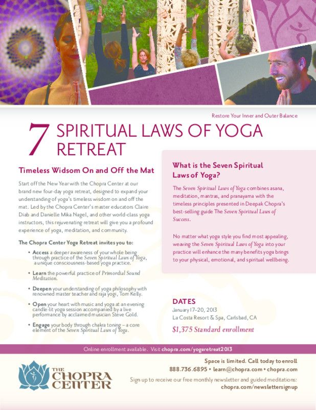 10 best yoga flyer examples images on pinterest yoga for Yoga retreat san diego