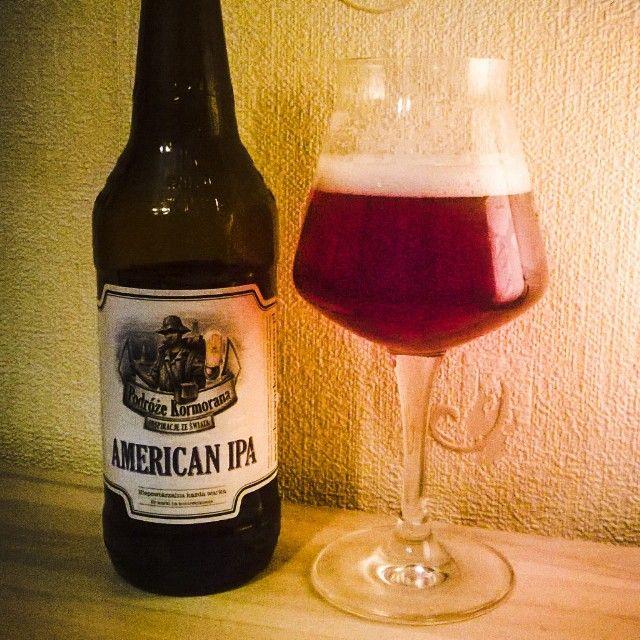Kormoran American IPA #kormoran #aipa #americanindiapaleale #beer #piwo #beergeek #beerporn #instabeer #teku #tekuglass