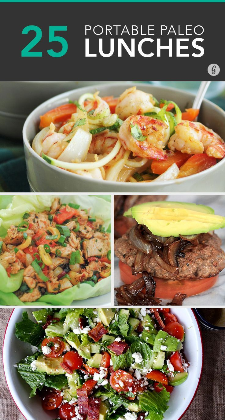 25 Paleo Lunches to Brown Bag to Work #paleo #lunch #recipes