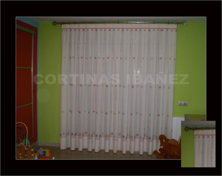 92 best images about cortinas on pinterest pique un and 2 - Cortinas infantiles valencia ...
