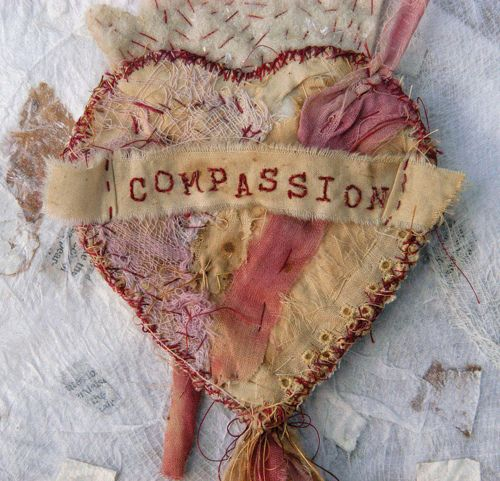 ❥ Milagro of Compassion by PilarNice Prayer, Pilar Isabel, Prayer Flags, Hands Embroidery, Design Interiors, Dyed Fabrics, Hands Dyed, Isabel Pollock, Fiber Art