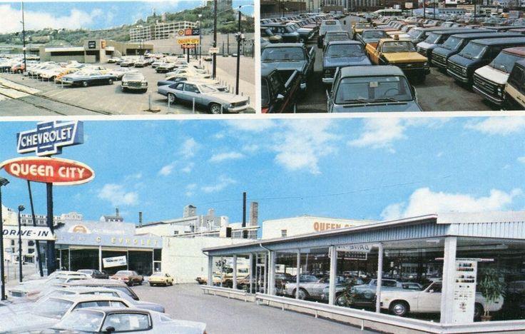 Queen City Chevrolet Dealership, Cincinnati, Ohio
