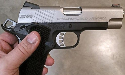 American Rifleman | Tested: Springfield Armory EMP4 Concealed Carry Contour
