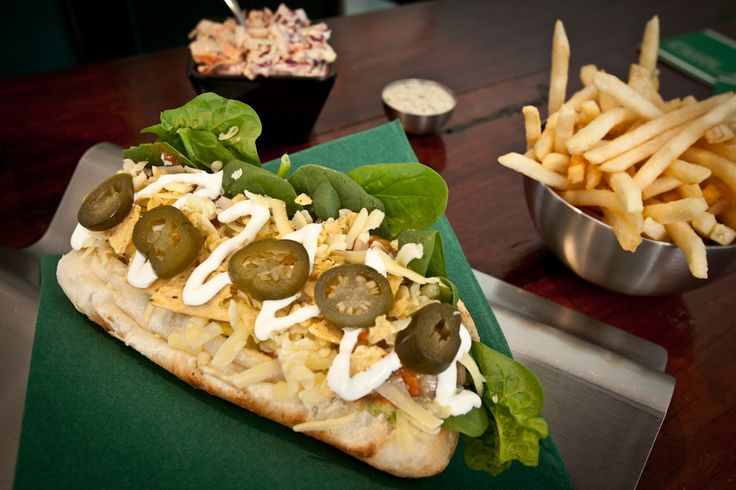 The Mischief hotdog at Runamuk in Fremantle -