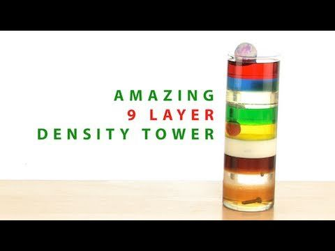 9 Layer Density Tower - Steve Spangler Science