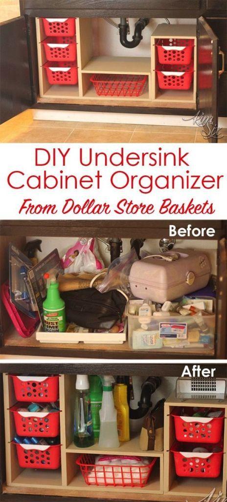 under kitchen sink organizing ideas STORE IT in 2018 Pinterest