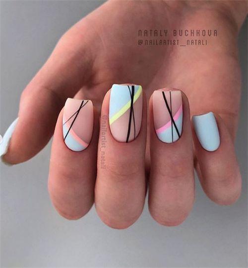 Chic Summer Matte Acrylnägel Designs zu kopieren – Nail designs