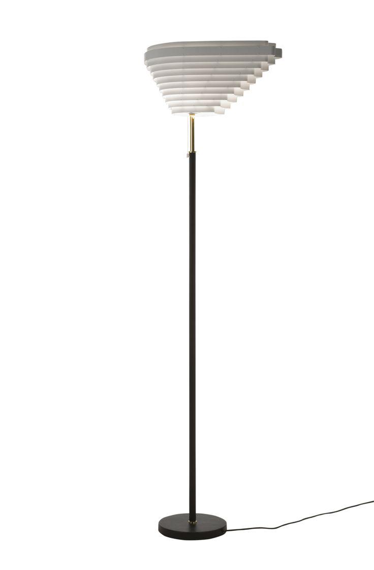 FLOOR LAMP A805 BY ARTEK | DESIGN ALVAR AALTO