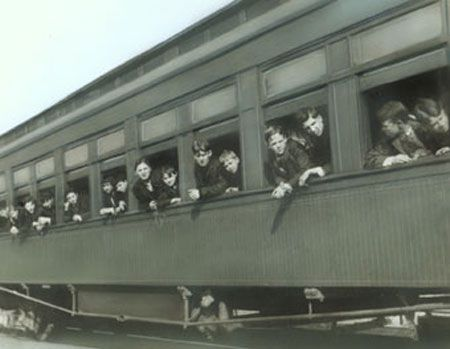 the orphan trains of the 19th century | Ohio's Yesterdays : Following the Orphan Train Riders