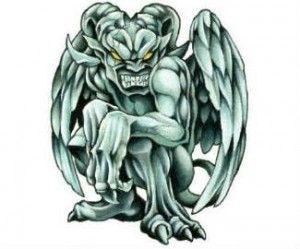 Gargoyle-Tattoo-Muster | Weitere Tattoos-Bilder unter: Gargoyle-Tattoos  #bilder… – Tattoo Images
