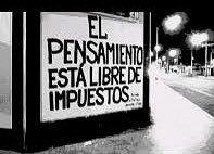 El pensamiento esta libre de impuestos  #poesia #lavidaesarte
