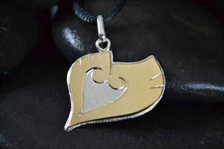 Heart Gold Pokemon Pendant by Silverthink.deviantart.com on @DeviantArt