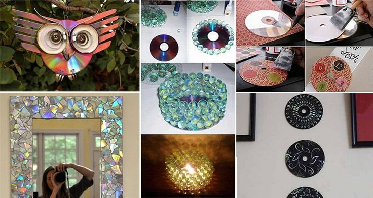 What do you do with all those CDs just cluttering up the house? Well they are admittedly really cool-looking with their reflective backs, and with this in mind we've pulled together 14 awesome and easy ideas for CD DIY crafts.