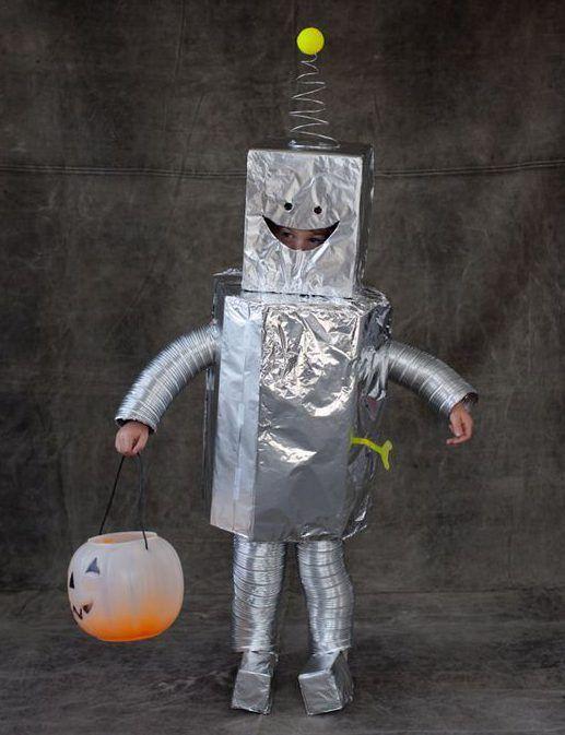 retro roboter kost m selber machen kost m idee zu karneval halloween fasching fasnet. Black Bedroom Furniture Sets. Home Design Ideas
