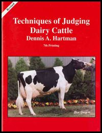Techniques of Judging Dairy Cattle from Ohio 4-H