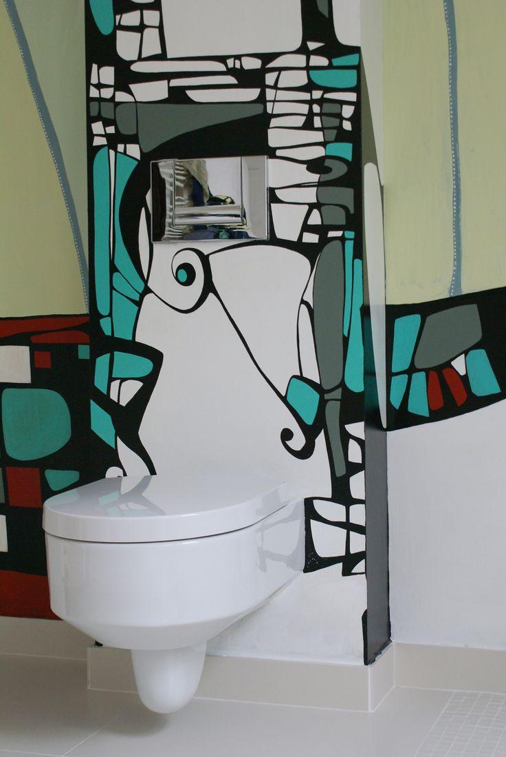 "Bathroom Wall Mural ""Dreaming"" Pictura Murala Baie ""Dreaming"""