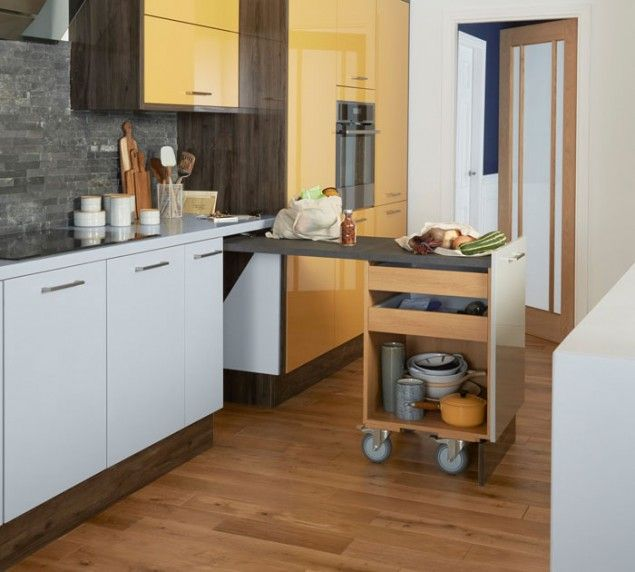 exceptional Space Saver Kitchen Design #3: Space Saving Kitchen Ideas from Magnet