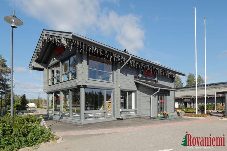 Kieppi – Rovaniemi Log House Head Office in summer time :)