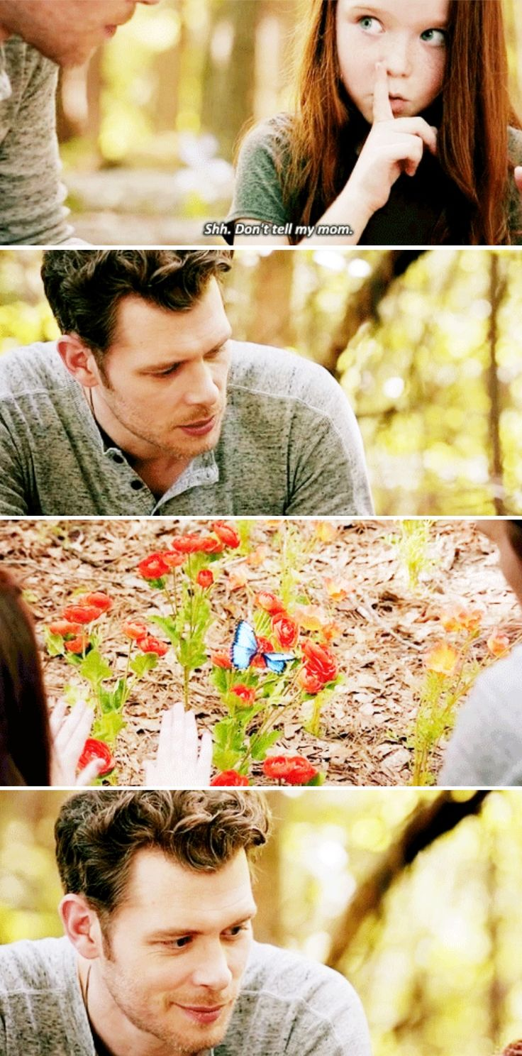 The Originals 4x03 | OMG they're growing the father-daughter-don't-tell-mommy bond. #TheOriginals