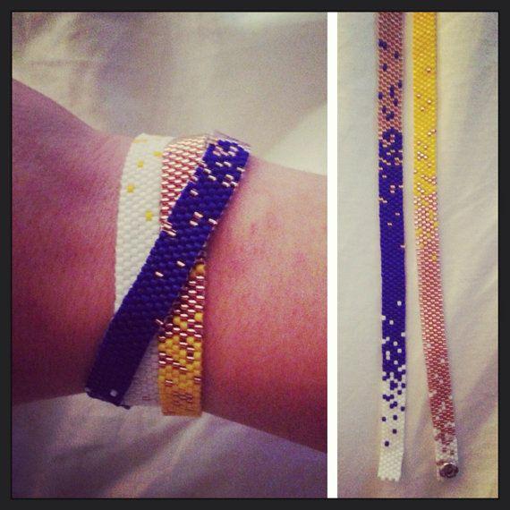Faded Wrap Bracelet by ClaireElizabethB on Etsy