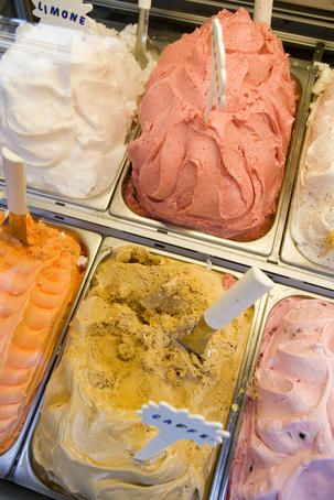 Italy Gelati detail. Lonely Planet Media Greg Elms Lonely Planet Photographer © Copyright Lonely Planet Images 2011