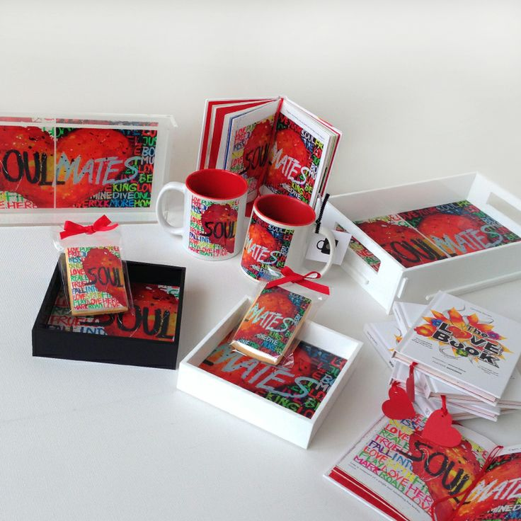 Our soul mates love collection. #love #mugs #lovebook #cookies #lovetrays #valentine's #storymood