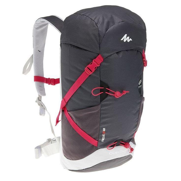 Zaini Montagna, Trekking - Zaino montagna FORCLAZ 20 AIR grigio-rosa QUECHUA…