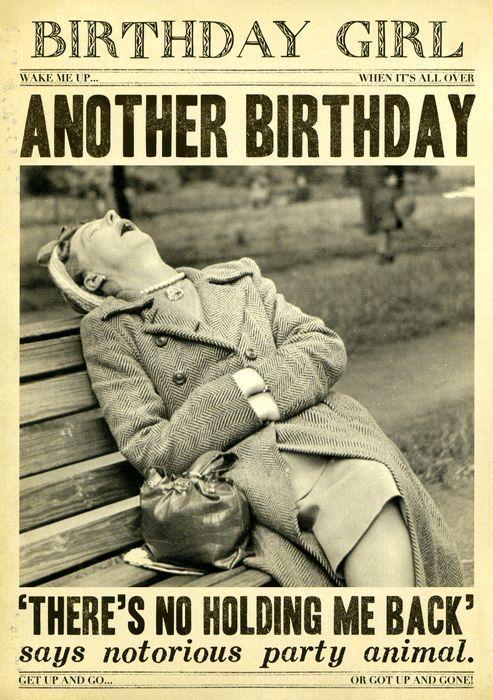 Noch ein Geburtstag – Nein, haltet mich zurück