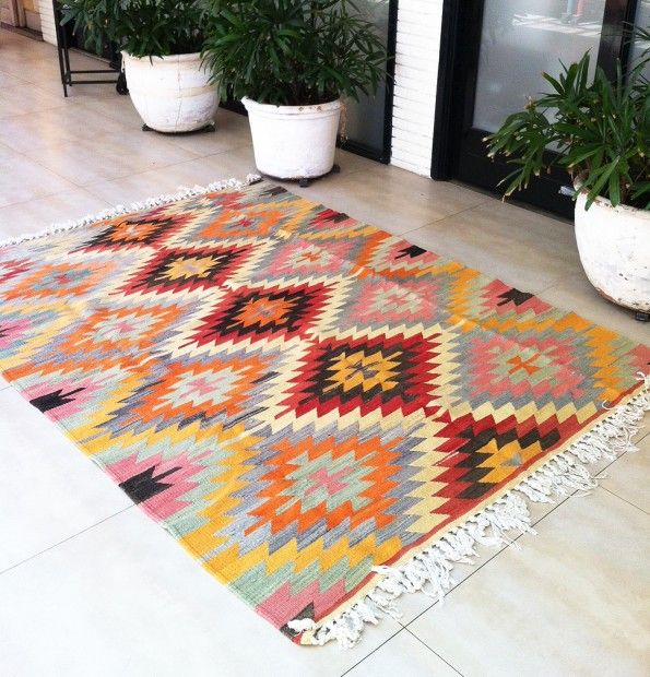 Alfie Turkish Kilim from Table Tonic | $1299 | 2.75 x 1.9