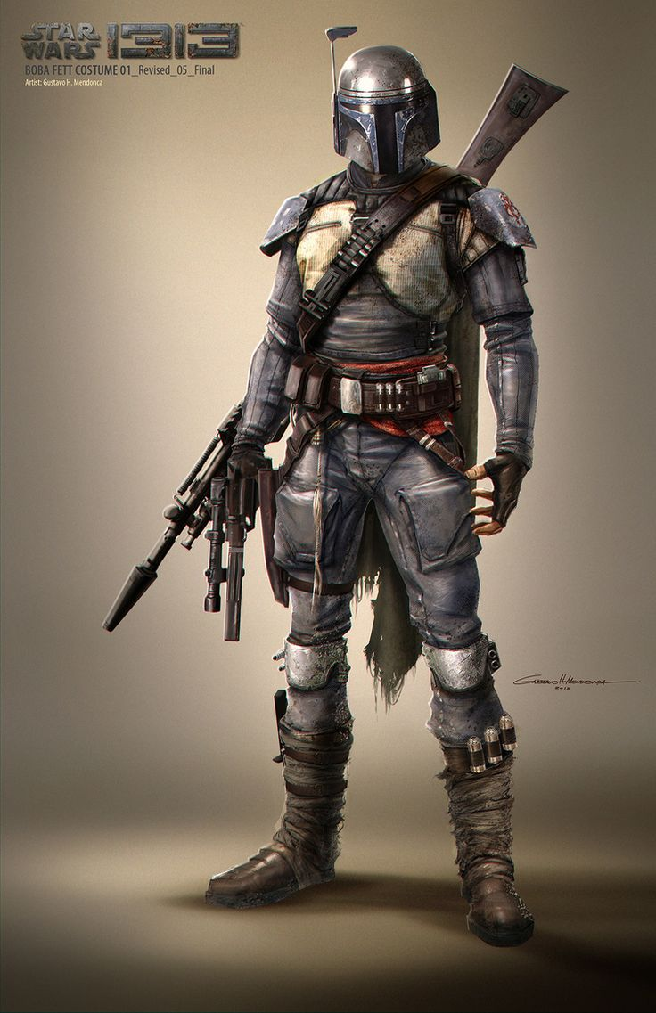 Star Wars 1313 - Concept art - Boba Fett